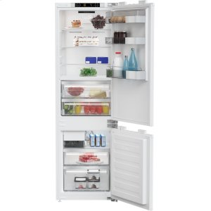 "24"" 10.5 cuft fully integrated fridge with auto ice maker"