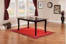 Venetian Dining Table 36x48 in Espresso