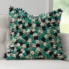 Wonton Pillow-Green/Blue Multi
