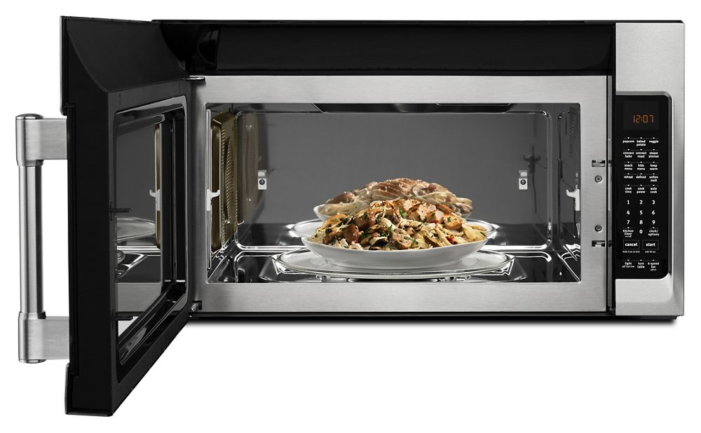 Maytag Over The Range Microwave With Convection Mode 1 9 Cu Ft