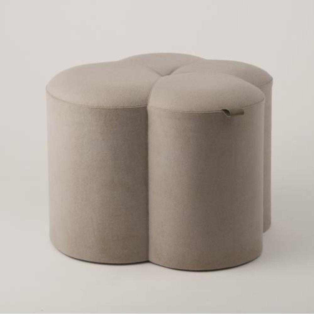 Cactus Ottoman-Grey