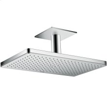 Chrome Overhead shower 460/300 1jet with ceiling connection