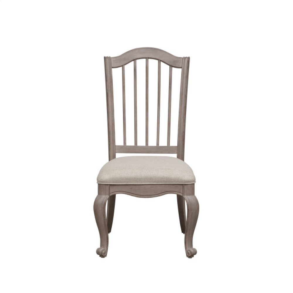 Simply Charming Spindle Back Side Chair