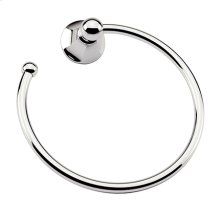Polished Chrome Towel Ring - Open