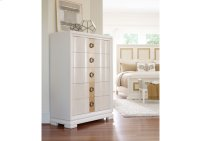 Tower Suite - Pearl Finish Drawer Chest