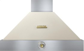 Hood DECO 36'' Cream matte, Gold 1 power blower, analog control, baffle filters
