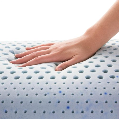 Zoned Gel Talalay Latex - Queen Low Loft Plush
