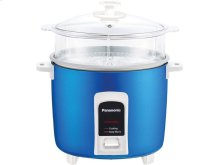 10 Cup (uncooked) Automatic Rice Cooker and Vegetable Steamer - Blue - SR-Y18FGJA