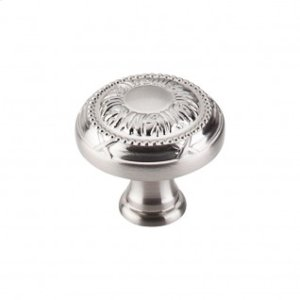 Ribbon Knob 1 1/4 Inch - Brushed Satin Nickel
