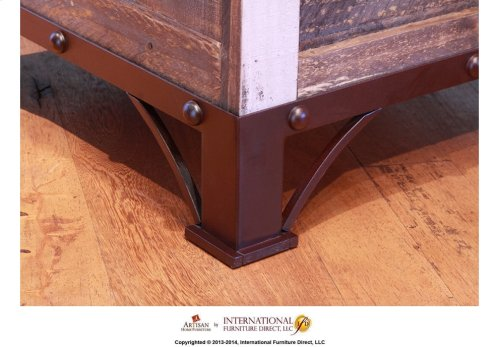 Storage Chair Side Table