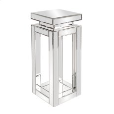 Mirrored Pedestal Table - small Product Image