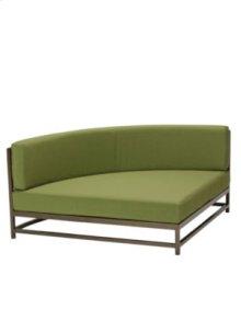 Cabana Club Cushion Party Lounger Quarter Section w/ Backrest