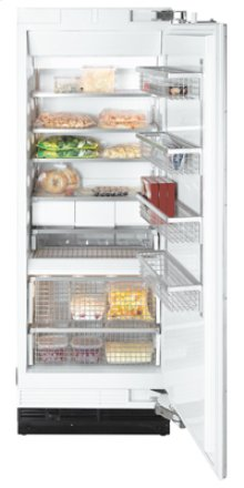 "30"" F 1801 SF Built-In Stainless Steel Freezer - Stainless steel"