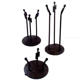 Iron Base for balls (Set of 3)