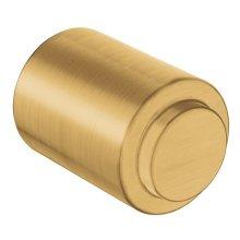 Iso brushed gold drawer knob