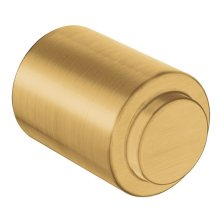 Iso brushed gold drawer knob