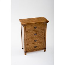 Bungalow - 4 Drawer Dresser