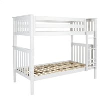 Twin/Twin Bunk White