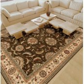 Living Treasures Li04 Brn Rectangle Rug 27'' X 18''