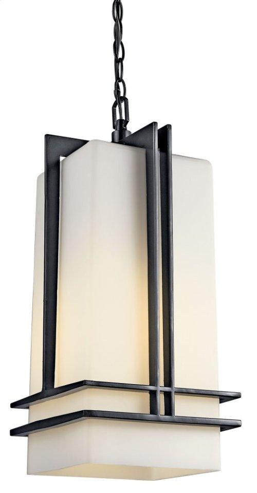 Tremillo 1 Light Pendant Black
