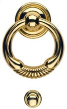 Door Knocker - Solid Brass in MB (MaxBrass® PVD Plated) Product Image