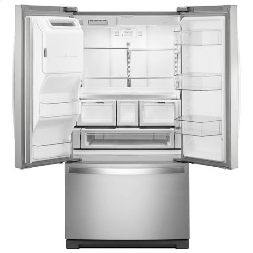 Whirlpool® 36-inch Wide French Door Refrigerator - 27 cu. ft. - Fingerprint Resistant Stainless Steel