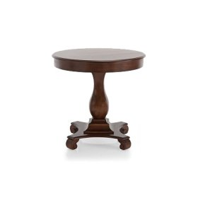 Marie Round Occasional Table Fruitwood