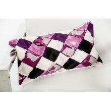 Modrest Roche Purple Throw Pillow