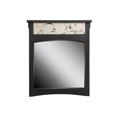 Patterned Mirror To Match 12867