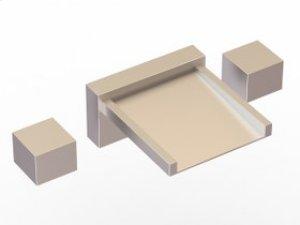 3-Hole Deck Mount Tub Filler - Brushed Nickel Product Image