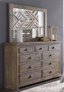 Drawer Dresser - Weathered Gray Finish
