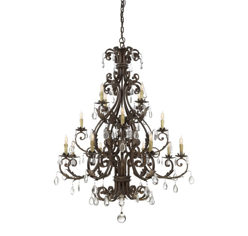 15308168 in by savoy house lighting in prairieville la chastain chastain 16 light chandelier aloadofball Images