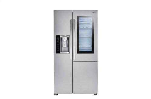 22 cu.ft. InstaView Door-in-Door® Side-By-Side Counter-Depth Refrigerator