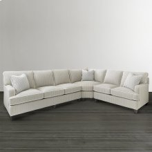 Custom Upholstery Medium L-Shaped Sectional