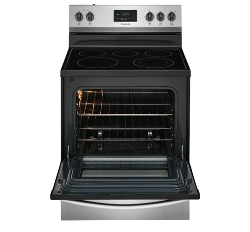 Ffef3052ts Frigidaire 30 Electric Range Stainless Steel
