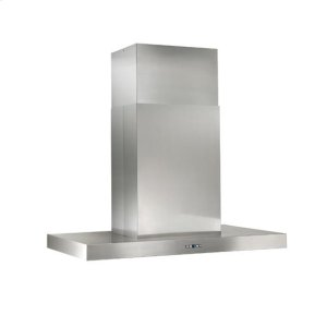 "BestGorgona - 48"" x 27"" Stainless Steel Island Range Hood with iQ12 Blower System, 1200 CFM"