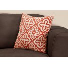 "PILLOW - 18""X 18"" / ORANGE MOTIF DESIGN / 1PC Product Image"
