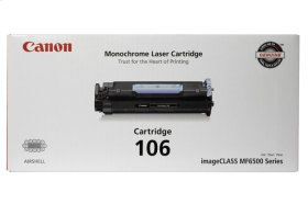 Canon Black Toner Cartridge 106 Black Toner Cartridge 106