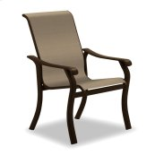 Villa Sling Stacking Arm Chair