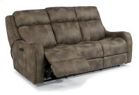 Springfield Fabric Power Reclining Sofa with Power Headrests Product Image