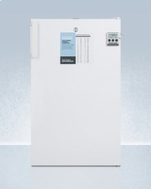 ADA Compliant Auto Defrost All-refrigerator for Medical Use With Digital Thermostat, Alarm, Lock, Internal Fan, and Hospital Grade Cord
