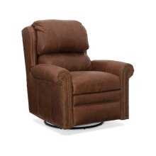 Bradington Young Satchel Wall-Hugger Recliner W/Brass Nails 7257