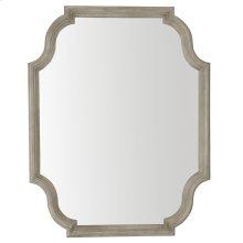 Marquesa Mirror in Gray Cashmere (359)