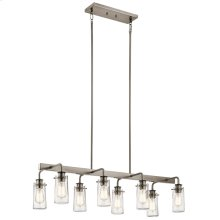 Braelyn Collection Braelyn Linear Chandelier 8 Light CLP