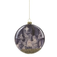 Holy Family Disk Ornament Boxed.