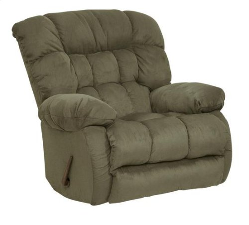 Chaise Swivel Glider Recliner - Sage