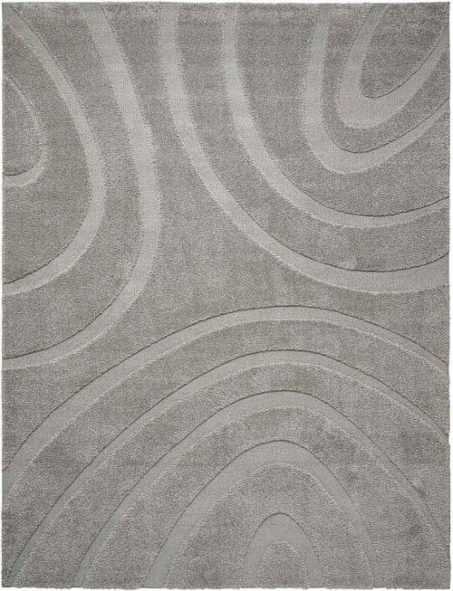 Jaspar Jasp1 Silver Rectangle Rug 8'2'' X 10'