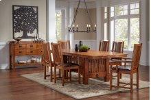 Mission Trestle Table