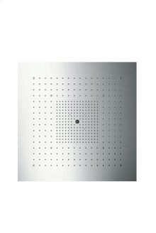 Stainless Steel ShowerHeaven 720 x 720 mm 3jet overhead shower without lighting