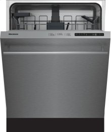 """24"""" Standard height dishwasher 5 cycle top control stainless 48 dBA"""